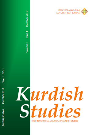Kurdish Studies Vol 1 No 1