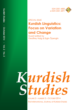 Kurdish Studies Vol 2 No 2