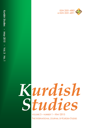 Kurdish Studies Vol 3 No 1