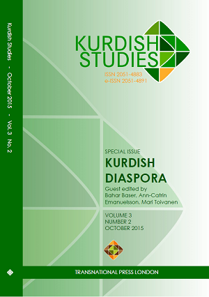 Kurdish Studies Vol 3 No 2