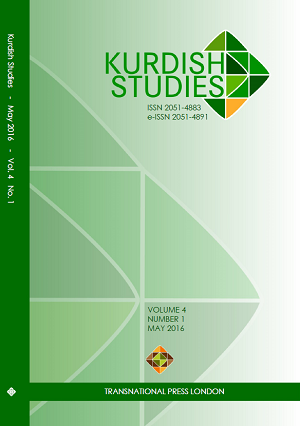 Kurdish Studies Vol 4 No 1