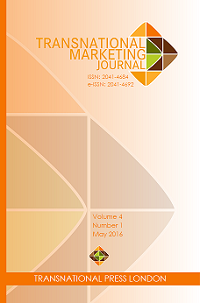 Transnational Marketing Journal cover