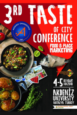 Taste of City Food and Place Marketing Conference 2018 Programme and Abstracts Book
