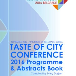 Taste of City Conference 2016 Programme and Abstracts Book