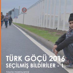 Türk Göçü 2016 secilmis bildiriler