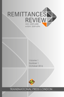 Remittances Review – Vol 3 No 1