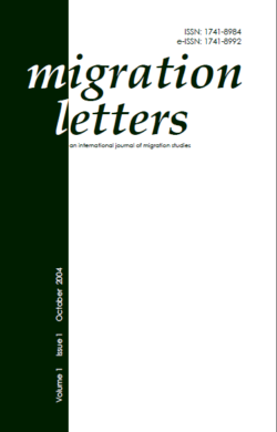 Migration Letters – Vol 1 No 1