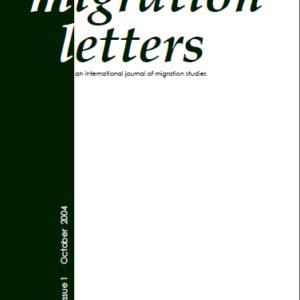 Migration Letters – Vol 1 No 1