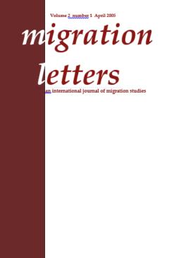 Migration Letters – Vol 2 No 1
