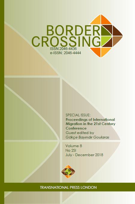 Border Crossing Vol 8 No 2SI