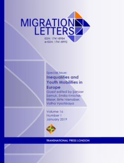 Migration Letters – Vol 16 No 1