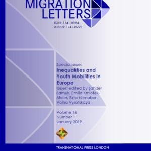 Migration Letters – Vol 16 No 1