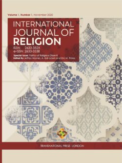 International Journal of Religion – Vol. 1, N. 1 – Nov. 2020